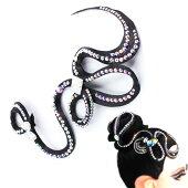 社交ダンスヘアアクセサリー髪飾り競技会デモパーティーラテンドレスモダンドレスヘアオーナメントH030