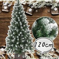 クリスマスツリー120cmポイントスノーツリー先雪木製ポットグリーンツリーの木[ヌードツリー]【xjbc】【RCP】