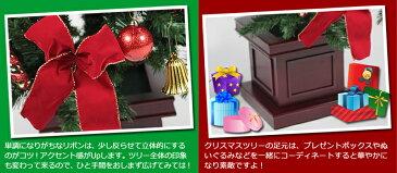 クリスマスツリー 150cm 木製ポットセットツリー レッド オーナメント付きクリスマスツリー ポットツリー 北欧 おしゃれ 【A】