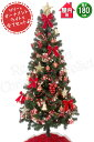 【12/28〜1/5】冬期休暇 クリスマスツリー 180cm...