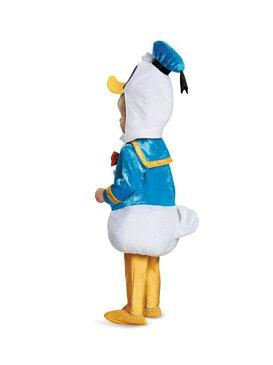 コスプレ ハロウィン 2020 コスチューム 可愛い キャラクター 子供用 キッズ衣装 2点セット ドナルドダックコスチュームセット (頭+ボディ+レギンス+履物)