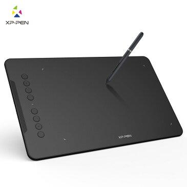 XP-Pen ペンタブレット Deco01 バッテリー充電不要 8192レベル筆圧 8個エクスプレスキー 10*6.25インチ