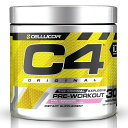【SCIVATION公式ストア】セルコア C4 オリジナル エクスプローシブ ピンクレモネード 30サービング 195g【Cellucor】C4 Original Explosive Pre-Workout Pink Lemonade 30 Servings 6.9oz
