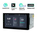 (TQ700L) XTRONS Android10.0 6コア 2DIN 7インチ 車載PC HDM...