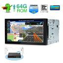 (TBX709SIL) XTRONS 7インチ 8コアAndroid9.0 ROM64GB+RAM4GB フルセグ 4x4地デジ搭載 アプリ連動操作可 静電式2DIN一体型車載PC 最新16GB地図付 カーナビ OBD2 4G WIFI ミラーリング TPMS対応 ワイドFM