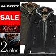 アルコット アウター コート キルティング フード付き 切り返し メンズ 長袖 ALCOTT イタリア Italy インポート 本物 正規品