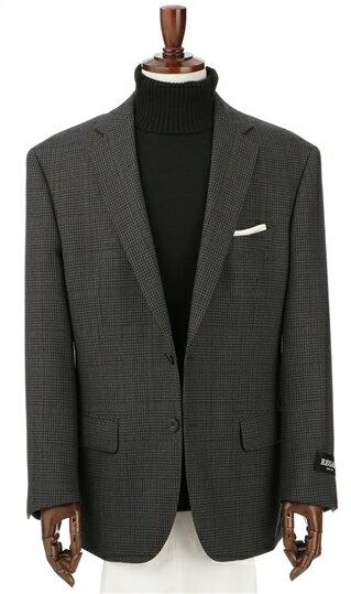 秋冬用 グレー系 【チェック】【ウール100%】スタンダードジャケット REGAL
