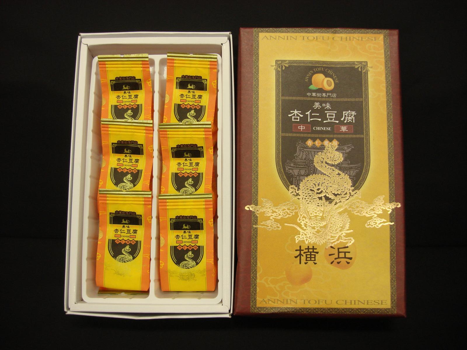 中華菓子, 杏仁豆腐 RCP