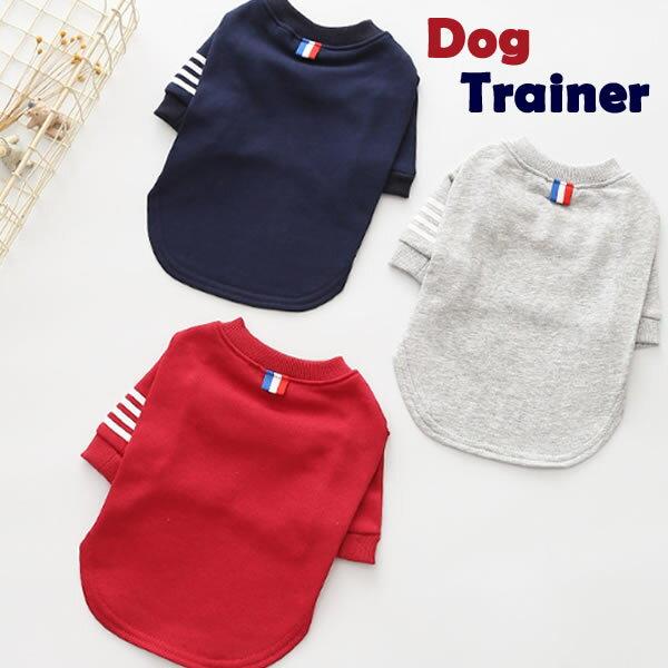〓犬 服 犬服 小型犬 トップス トレーナー ドッグウエア XS S M L XL ネイビー レッド グレー