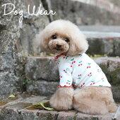 新作犬服犬服小型犬チェリートップスドッグウエアXSSMLXL