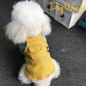 新作犬服犬服小型犬レオパードチュール付きワンピースドッグウエアXSSMLXL