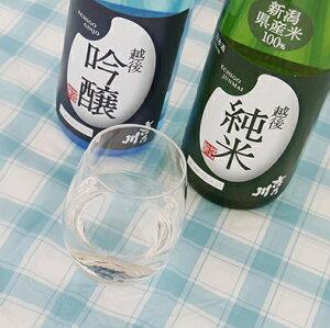 【越後純米】720ml/新潟/老舗/酒蔵/吉乃川/よしのがわ/純米酒/低アル/産直/テーブル酒/カジュアル