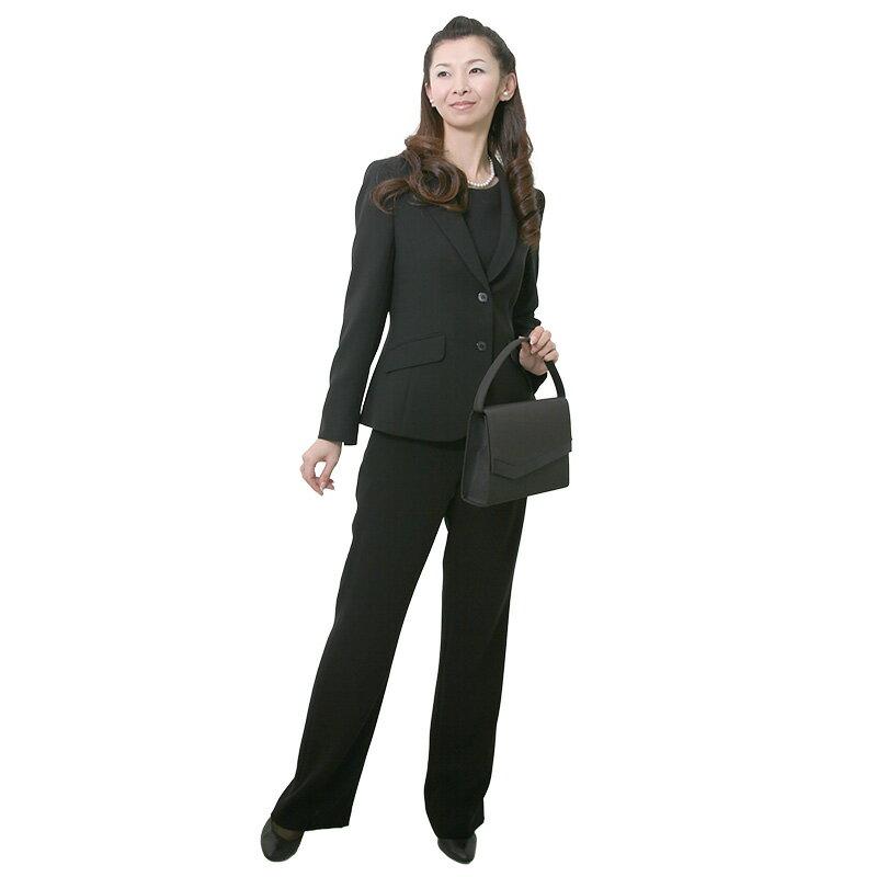 【レンタル】[パンツスーツ]女性礼服503 13号 fy16REN07 [ls]