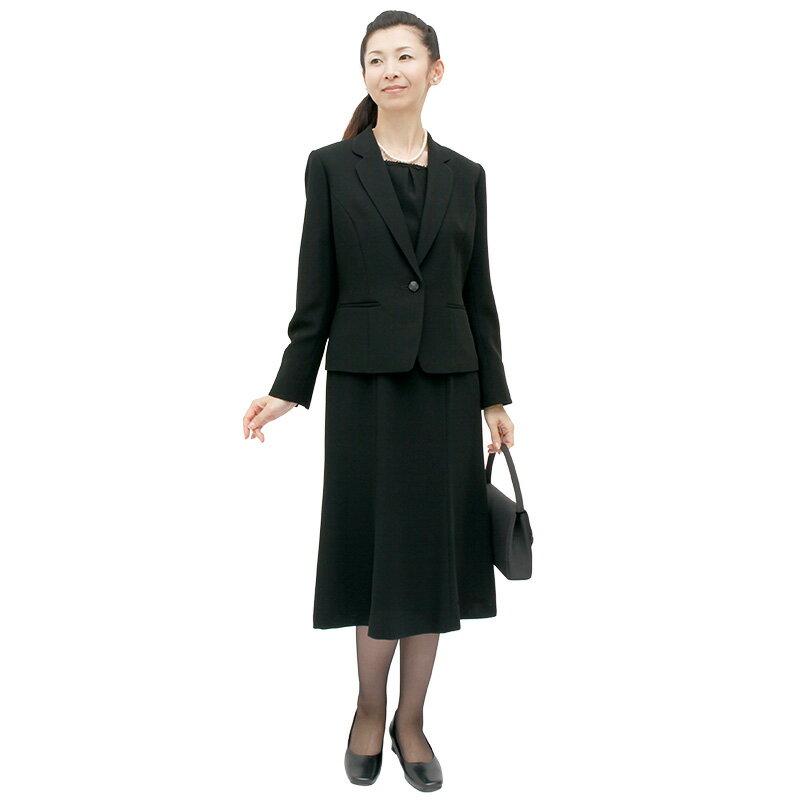 【レンタル】[123] 気品あるおしゃれを提案する授乳対応ワンピースとジャケットのアンサンブル喪服・礼服(テーラードカラー){11号}{2}{3}{4}{5}5分袖/礼服レンタル/喪服レンタル/レディース/お通夜/法事/卒業式/卒園式