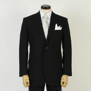 礼服 メンズ 春夏 1タック シングルブラック フォーマル スーツ裏地メッシュ仕立て 15000 tRF3003