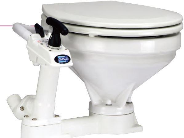 【送料無料】JABSCOジャブスコ手動マリントイレ標準サイズ
