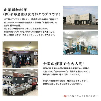 工場直送!北海道で人気の「塩ホルモン専門店炭や」塩ホルモン【自社製造/180g】北海道旭川市にある人気店の味をお届けします♪