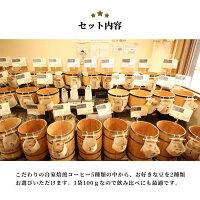 【期間限定】コーヒー豆お試しセット100g×2袋メール便送料無料