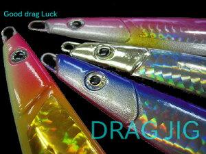 マルシン漁具 ジギング ドラッグジグ 40g 7本セット