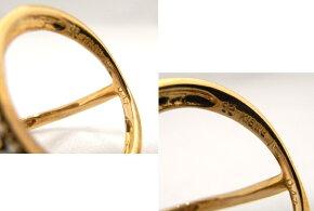 【送料無料】【手数料無料】【】【程度A】K18YG/WGイエローゴールドホワイトゴールド指輪ダイヤ0.47ctノーブランドリングスターデザイン星