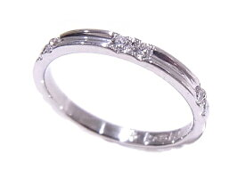 指輪リング4℃Pt999プラチナダイヤモンド0.24ct#10【中古】【程度A】【美品】