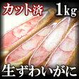 生切りズワイガニ(ずわいがに足)ハーフポーション1kg/蟹【ギフト】