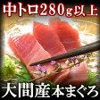 大間産天然本鮪(本マグロ 中トロ(冷凍)280g以上 /鮪【ギフト】