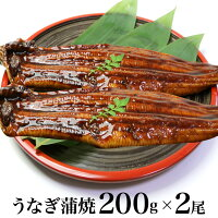 【ギフト用包装いたします】うなぎ蒲焼200g×2尾(中国産)