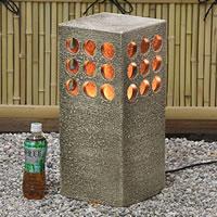 信楽焼き庭園灯