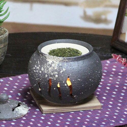 茶香炉 陶器茶香炉 陶器アロマ 茶 しがらき 焼き物 信楽焼 火 キャンドル 茶こうろ 香炉 ギフト [...
