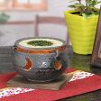 癒しの空間をつくる陶器、インテリアにも最適!信楽焼き黒砂流し茶香炉/アロマポット/お茶/陶器/しがらき/[ty-0012]