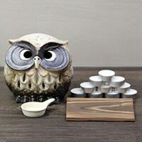 福多郎茶香炉信楽焼茶香炉陶器アロマポット
