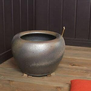 [10% OFF coupon only now] Shigaraki ware No. 10 Namako brazier It is a pottery brazier that creates a Japanese style. Pottery Hibachi Hand roast Handblow Shigaraki Yaki Hibachi hi-0007