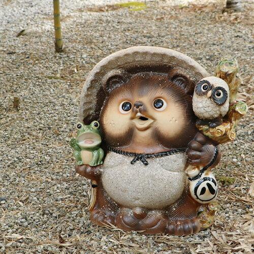 信楽焼たぬき タヌキ 陶器タヌキたぬき置物 やきもの しがらきやき 狸 タヌキ信楽 焼...