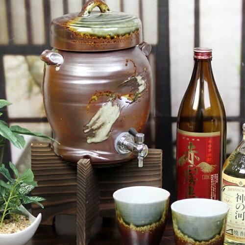 鉄赤焼酎サーバー2.5リットル★美味しくなると評判です★ギフトにも最適!◆名入れ...