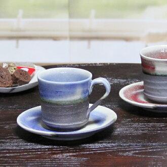 Shin 長崎潔具咖啡杯子 / 藍莓咖啡碗菜 / 陶咖啡 / 碗菜 / 陶器 / 儀器儀錶 / 咖啡杯子 / 碗菜 / 長崎陶器 / 粘土 / 盤 / 杯 / 杯 / 杯 / 和當