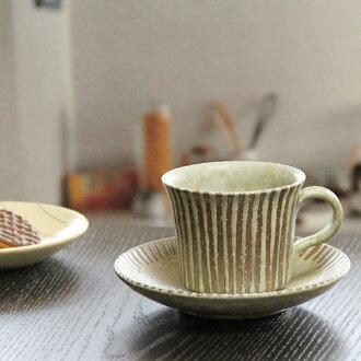 長崎潔具咖啡杯子 / moegi 線咖啡碗菜 / 陶咖啡 / 儀器 / 碗菜 / 陶器 / 咖啡杯子 / 碗菜 / 長崎陶器 / 粘土 / 馬克杯 / 菜 / 杯子 / 馬克杯 / 和當