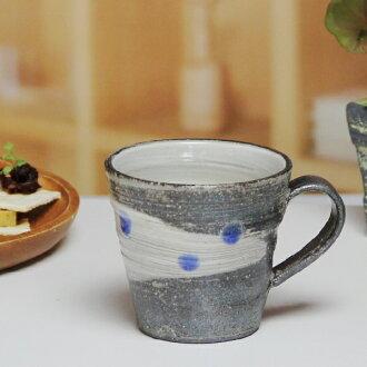 Shin 長崎陶杯! 銀河系 (藍色) 杯! 土壤、 杯子和陶瓷杯 / 咖啡杯 / 咖啡碗 / 啤酒杯 / 杯 / 杯啤酒 / 咖啡廳 Mag / 陶器 / 餐具 /