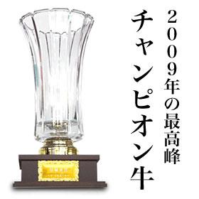 2009年松阪牛チャンピオン牛半丸【期間限定】赤字覚悟の限定商品♪人気に訳あり