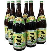 焼酎三岳1800ml×6本屋久島より直送致します。※未成年者には販売いたしません。