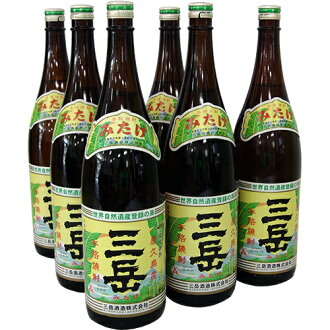 Yakushima soju mitake 1800ml×6 book will be sent directly. * We do not sell to minors.
