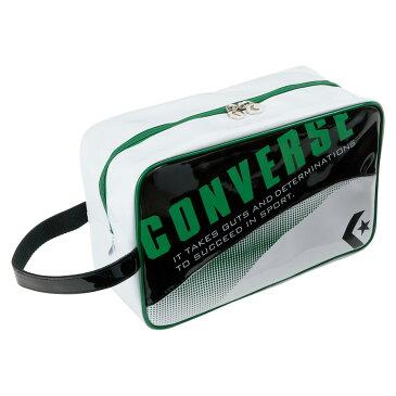 CONVERSE(コンバース) シューズケース ブラック/グリーン