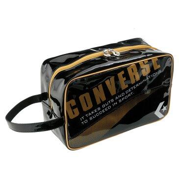 CONVERSE(コンバース) シューズケース ブラック/ゴールド