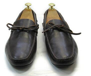 CAR SHOE (カーシュー)7 (約25.5〜26.0cm) イタリア製・スリッポンYALAKU-ヤラク-メンズビジネスシューズ・紳士靴【中古】【送料無料】【靴】