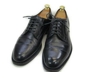 RONSON (ロンソン)約24.5-25.0cmMADE IN JAPAN プレーントゥYALAKU-ヤラク-メンズカジュアルシューズ・紳士靴【中古】【送料無料】【靴】