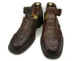 【中古】【送料無料】記載なし41 (約25.5〜26.0cm) ITALY製 サンダル YALAKU-ヤラク-メンズカジュアルシューズ・紳士靴