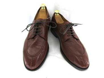 BOSTONIAN ボストニアン7 1/2 (約25.0〜25.5cm)イタリア製 Uチップ♪YALAKU-ヤラク-メンズブーツ 紳士靴【中古】【送料無料】【靴】