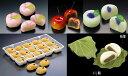 懐石用 甘味 花餅シリーズ 春・夏・秋・冬 季節に合わせてお届けいたします【あんこ/お茶菓子/お茶うけ】の商品画像