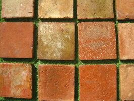 アンティークテラコッタタイル六角形