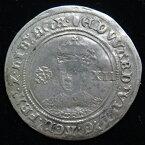 【 16世紀の銀貨 】 イギリス エドワード6世 シリング銀貨 1547-53年 (美品)【現品限り】【 送料無料 】